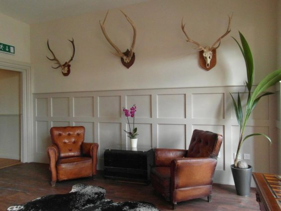 Zithoek van Hotel Brooks in Edinburgh