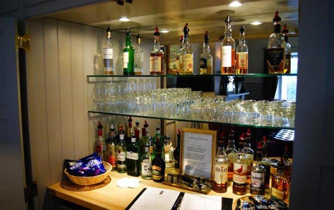 Bar van Hotel Brooks in Edinburgh
