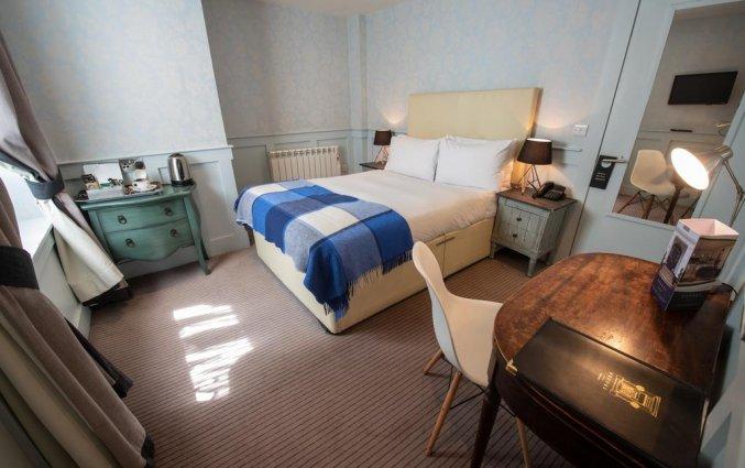 Tweepersoonskamer van Hotel Brooks in Edinburgh