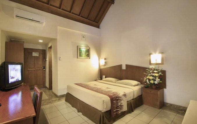 Tweepersoonskamer van Hotel Kuta Lagoon Resort op Bali