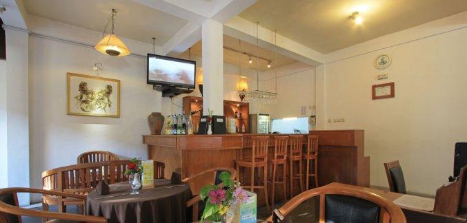 Bar van Hotel Kuta Lagoon Resort op Bali