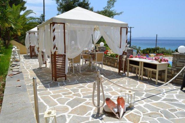 Lounge van hotel Elea Village in Chalkidiki