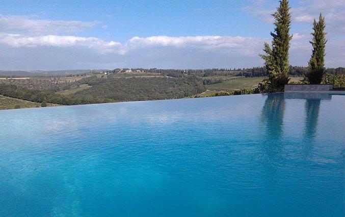 Zwembad van Bed and breakfast Poderi Arcangelo in Toscane