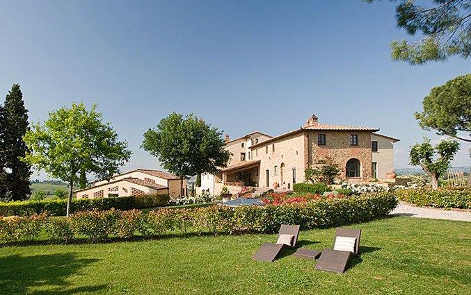 Gebouw van Bed and breakfast Poderi Arcangelo in Toscane