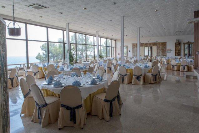 Restaurant van hotel Cap Roig in Platja d'Aro