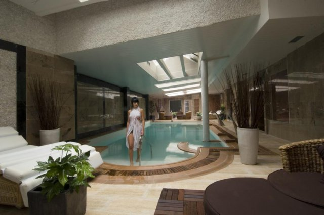 Zwembad van hotel Cap Roig in Platja d'Aro