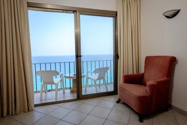 Slaapkamer van hotel Cap Roig in Platja d'Aro