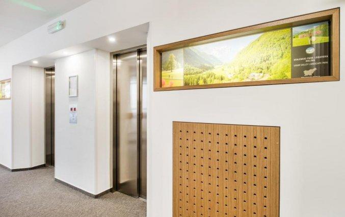 Lift van hotel Park Ljubljana