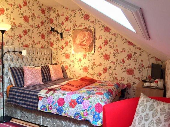 Tweepersoonskamer van Guest House Pilrig in Edinburgh
