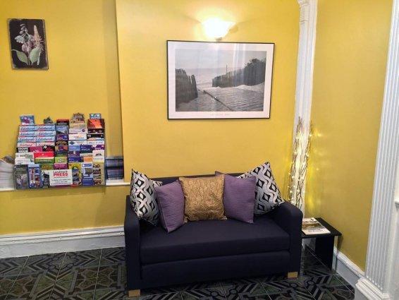 Zithoek van Guest House Pilrig in Edinburgh