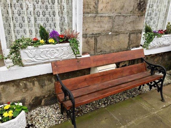 Zithoek buiten van Guest House Pilrig in Edinburgh