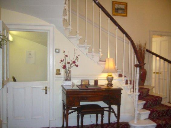 Lobby The Ben Doran Guest House in Edinburgh