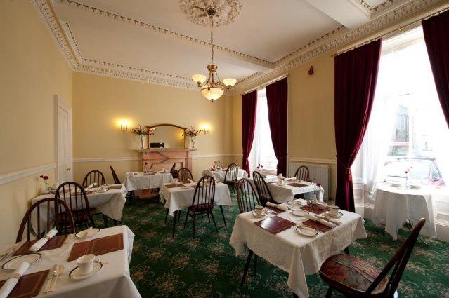 Eetzaal van The Ben Doran Guest House in Edinburgh