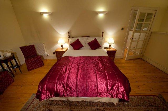 Slaapkamer van The Ben Doran Guest House in Edinburgh