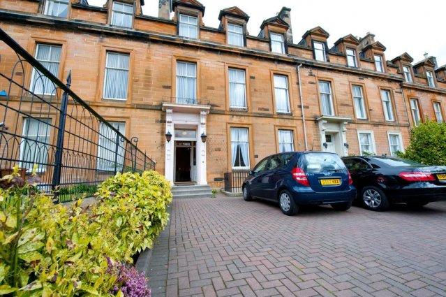 Voorkant van The Ben Doran Guest House in Edinburgh