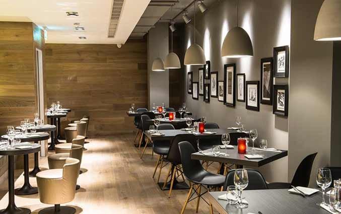 Restaurant van hotel Ibis Centre South Bridge in Edinbugh