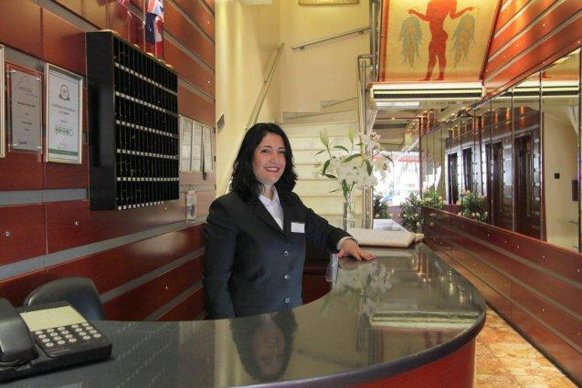 Receptie van Hotel Attalos in Athene