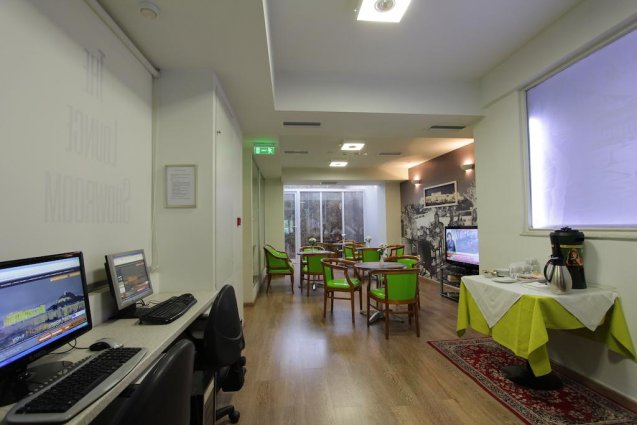 Ontbijtzaal van Hotel Attalos in Athene