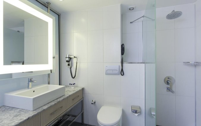Badkamer van Hotel Club Falcon in Antalya