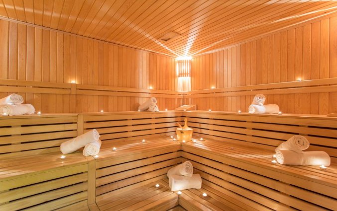 Sauna van Hotel Club Falcon in Antalya