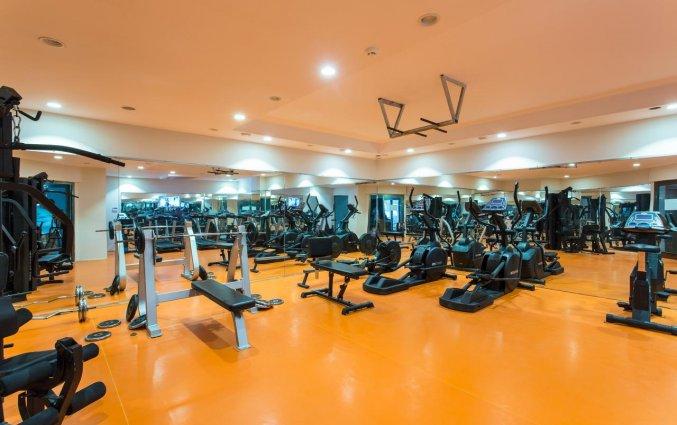 Fitnessruimte van Hotel Club Falcon in Antalya