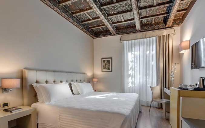 Tweepersoonskamer van Hotel La Fortezza in Florence