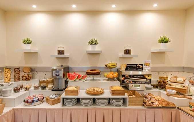 Ontbijt van Hotel La Fortezza in Florence