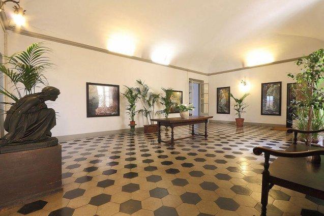 Lobby van Hotel Annalena in Florence