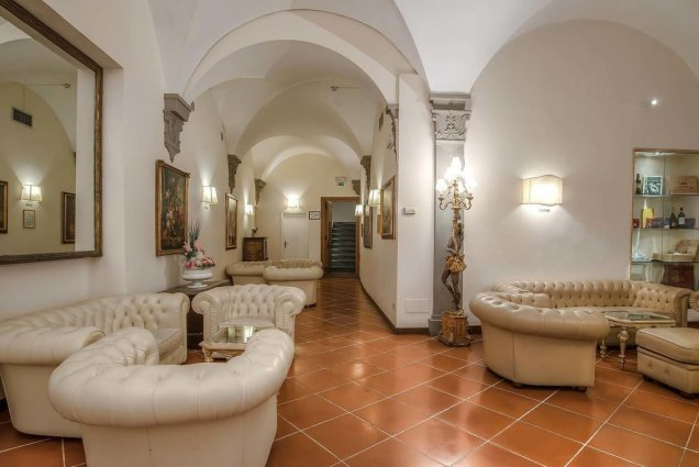 Lobby van Hotel Atlantic Palace in Florence