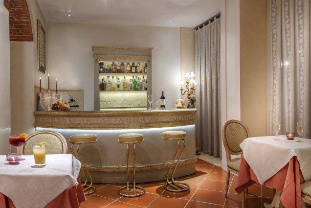 Bar van Hotel Atlantic Palace in Florence