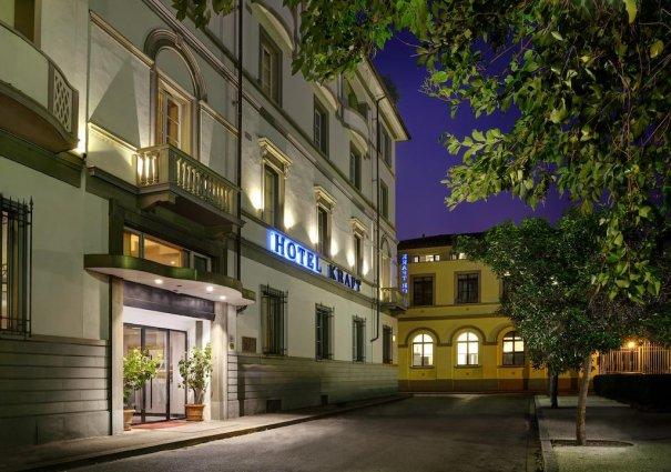 Gebouw van Hotel Kraft in Florence