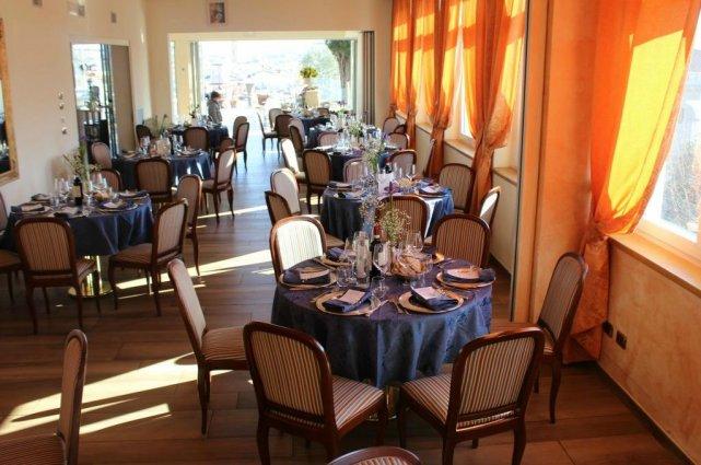Restaurant van Hotel Kraft in Florence
