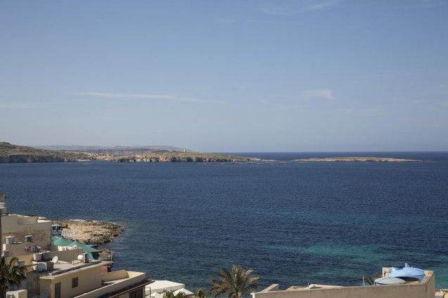 Uitzicht van Relax Inn Malta
