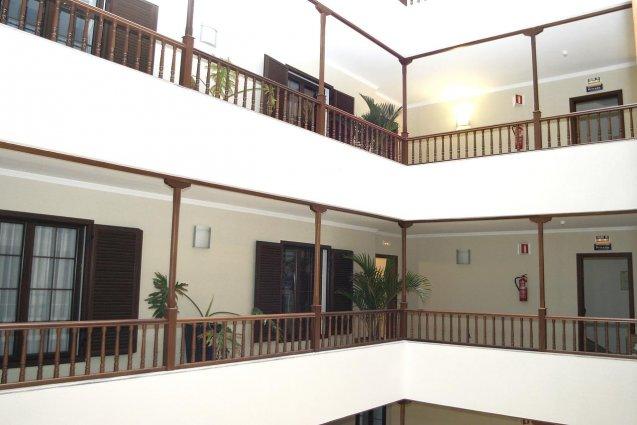 Hal van Hotel Diamar op Lanzarote