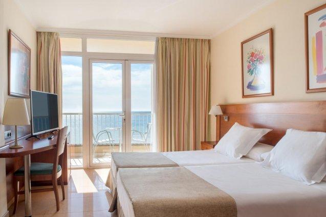 Kamer van Hotel Diamar op Lanzarote