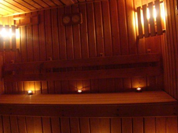 Sauna van Sunny Coast Resort in Malta