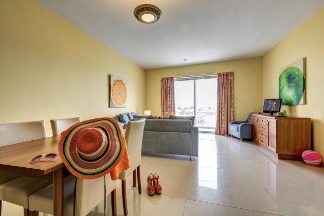 Woonkamer van Sunny Coast Resort in Malta