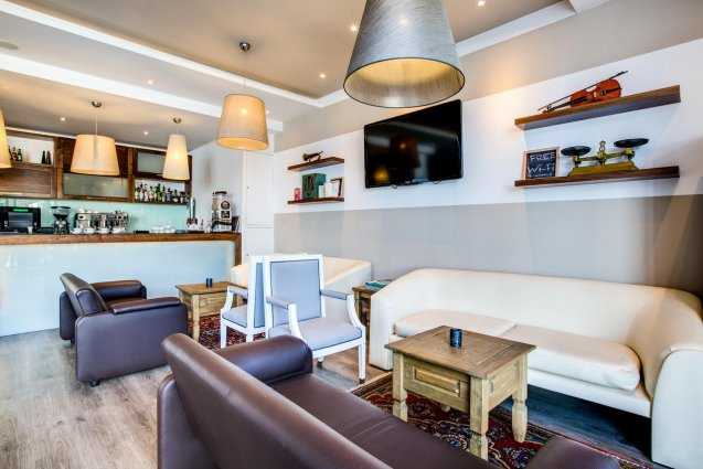 Loungebar van Sunny Coast Resort in Malta