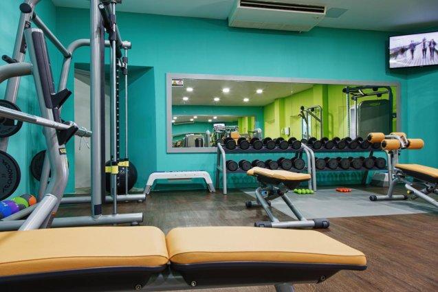 Fitnesszaal van Sunny Coast Resort in Malta