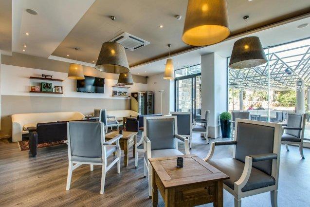 Restaurant van Sunny Coast Resort in Malta