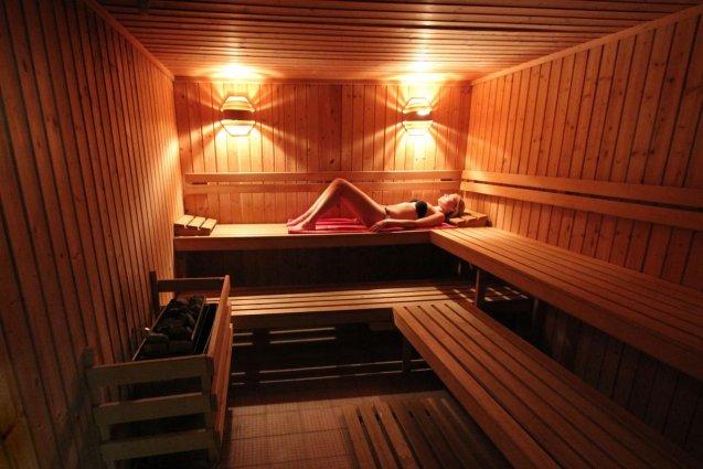 De sauna van Hotel Clube Mos Algarve