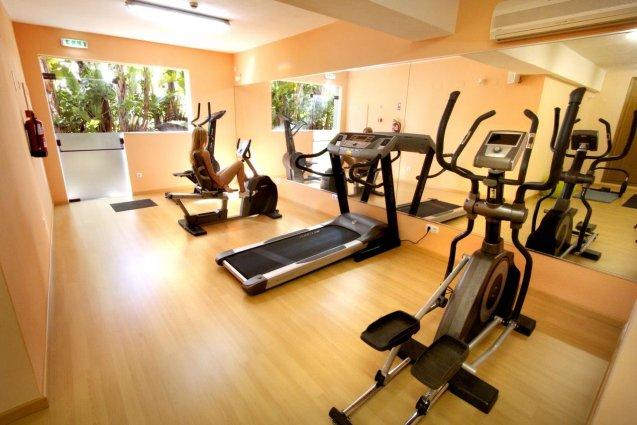De fitnessruimte van Hotel Clube Mos Algarve