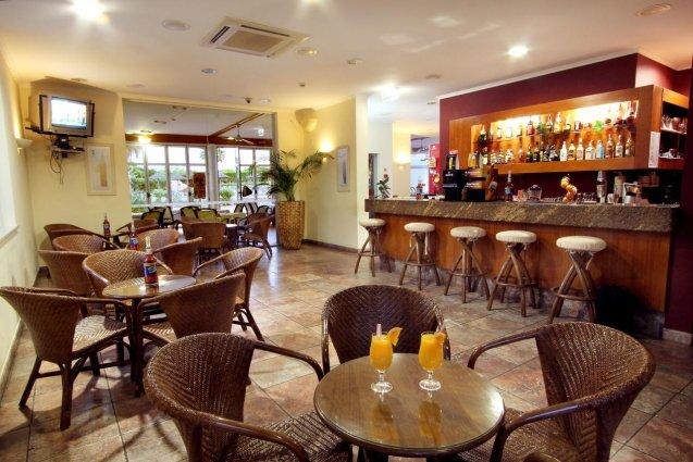 De bar van Hotel Clube Mos Algarve