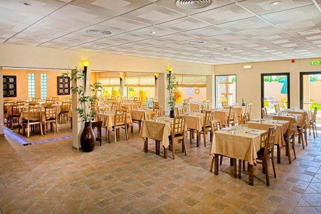 Restaurant van hotel Casablanca Inn inAlgarve