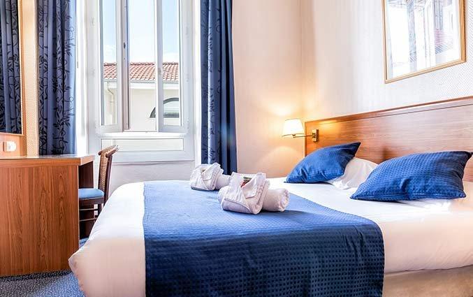 Tweepersoonskamer van Hotel Univers Nice