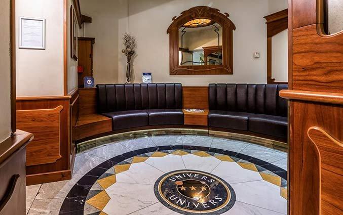 Lounge van Hotel Univers Nice