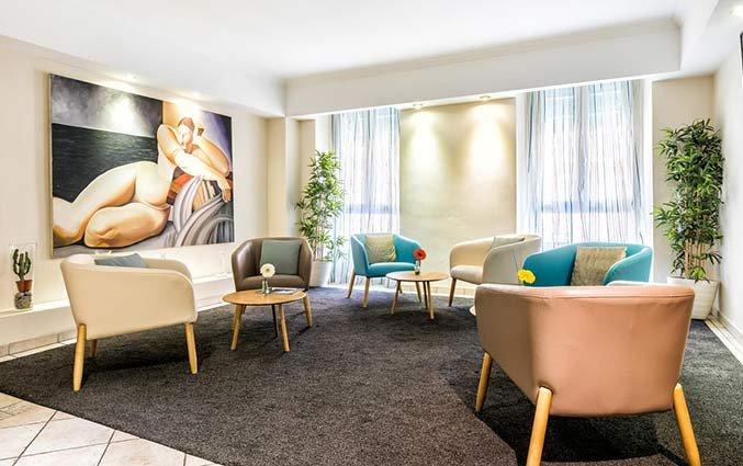 Zithoek van Hotel Univers Nice
