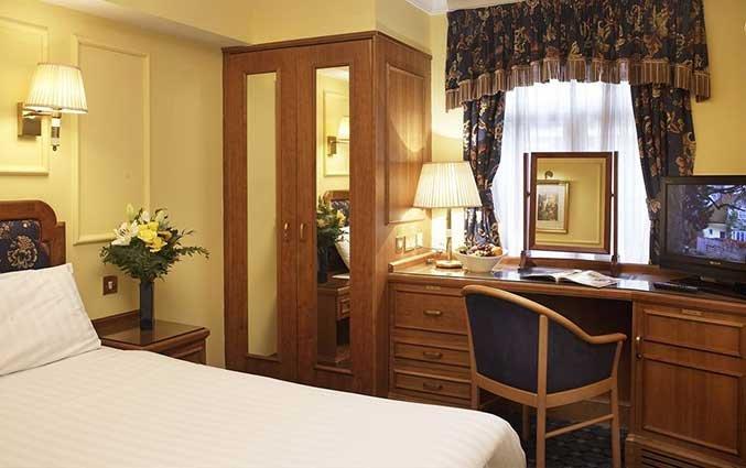 Tweepersoonskamer van Hotel Lancaster Gate in Londen