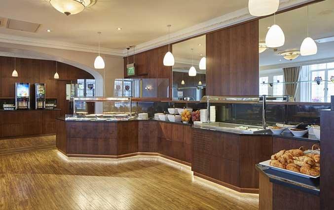Ontbijtzaal van Hotel Lancaster Gate in Londen