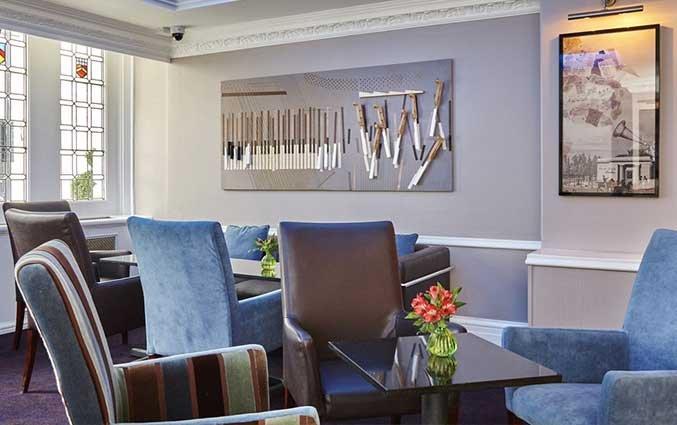 Bar van Hotel Lancaster Gate in Londen